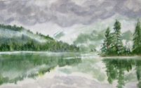 Misty Morn on Nahatlatch Lake